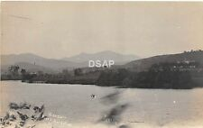 C67/ East Berkshire Vermont VT Real Photo RPPC Postcard c1920 Missisqoi Mountain