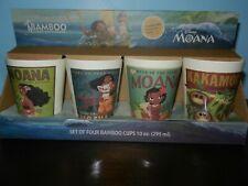 Bamboo 4 Piece Drinkware Moana NIB