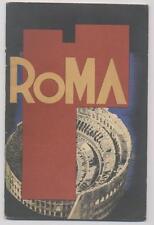 ROMA - Guida in spagnolo - ENIT 1936 - Ferrovie dello Stato