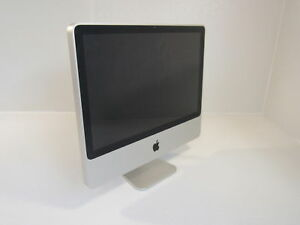 Apple iMac All In One 20 Inch Computer 500GB HD 2GHz Intel Core 2 Duo A1224