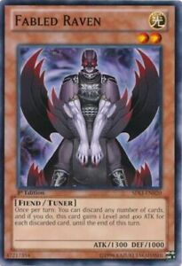 YUGIOH Fabled / The Fabled Deck Complete 40 Cards