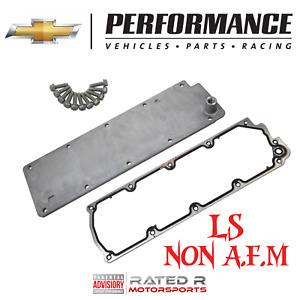 Chevrolet Performance NON-AFM LS Valley Cover Kit Gasket & Bolts 5.3L 6.0L 6.2L