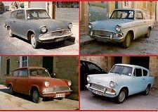 Malta Transport ~ 4 Car Photos - 1960s Ford Anglia 105E: Set 3 - late 1990s