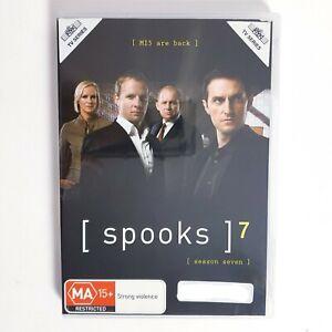 Spooks Season 7 DVD Region 4 AUS TV Series Free Postage - Crime Drama