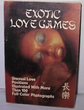 1978 EXOTIC LOVE GAMES - 100+ NUDE Color Photos Unusual Love Positions 18+ Only