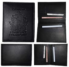 New Canadian Leather passport cover. Wallet. Canada Passport case. Passport. BN*
