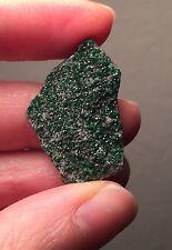 Sparkly Druzy Uvarovite Green Garnet Crystals