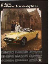 1975 The Golden Anniversary MGB Advertisement - British Leyland Motors