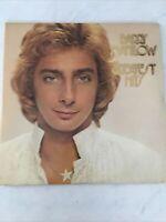 *RARE* Vintage Original Vinyl LP Record - 1975 Barry Manilow Greatest Hits