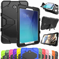 Shockproof Hybrid Stand Tablet Case Cover For Samsung Galaxy Tab A 8.0 SM-T350