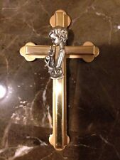 Gold and Silver Tone Holy Communion Cross For Boy