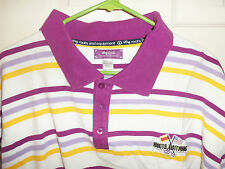 Vintage L-R-G Lifted Research Group LRG Unite Nations Striped Polo 3XL Trukfit