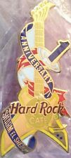 Hard Rock Cafe SHARM EL SHEIKH 1999 1st Anniversary PIN Guitar LE 750 HRC #8681