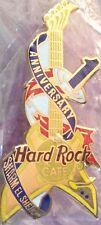 Hard Rock Cafe SHARM EL SHEIKH 1999 1st Anniversary PIN Guitar LE 750 HRC #8681