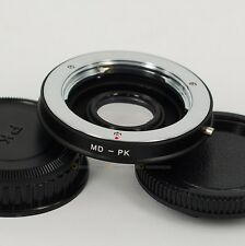 Minolta MD/MC Lens to PENTAX PK Mount Adapter K7 K5 K3 K30 K50 KS1 KS2 w/ Glass