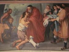 1955 Beautiful Vintage Sacred Art Calendar 12 months Excellent Spiritual Gift!!