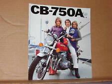 1976 Honda CB750 A Motorcycle Sales Brochure - Literature