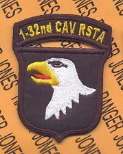 1-32nd CAV RSTA 101st Airborne Div Air Assault patch
