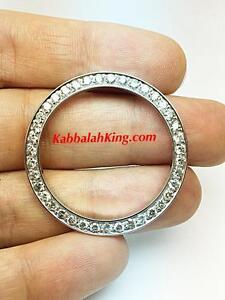 3.00ct Genuine White Diamond G-Color SI1 Stainless 36mm Rolex Diamond Bezel