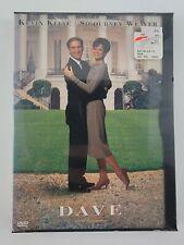 Dave (DVD, 1998) - Kevin Kline Sigourney Weaver Ben Kingsley New Factory Sealed