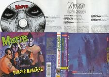 MISFITS - Famous Monsters - 1999 JAPAN CD OBI + Bonus Track