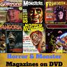 Horror & Monster Magazines Mega Collection - 737 PDF Magazines on 4 Data DVD's