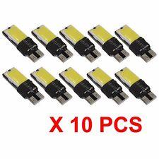 10pcs Canbus Error Free COB LED Car Auto Wedge Lights Parking Bulb LampT10 W5W