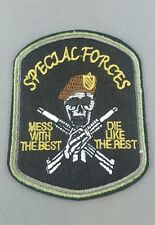 Special forces emroidered  iron on /sew on badge