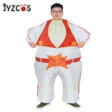 Elvis Presley Fancy Dress Inflatable Costume for Adult Cosplay Party Outfit Suit