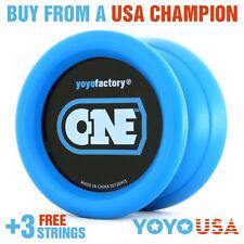 [FALL SALE] YoYoFactory ONE  Yo-Yo - Blue +  FREE STRINGS