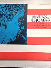 Dylan Thomas Visit To America And Poems TC1061 Caedmon Vol.IV 33RPM 030617RR