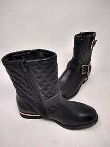 NEW! Skechers Youth Girl's Mad Sass Snazzy Jazzy Boots Black #87694L 201P cc