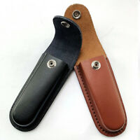 1PCS Faux Leather Knife Sheath Pouch Cover Belt Case Holder for Fold Knife Tool