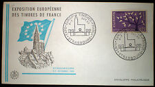 France 1962 lettre avec oblitération speciale. Cover with special cancellation