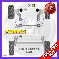 Renault Megane III RS (08-16) Non Adjustable Powerflex Complete Bush Kit