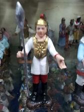 1 pastore soldato roma TERRACOTTA 8 cm pastori presepe nativity shepherds crib p