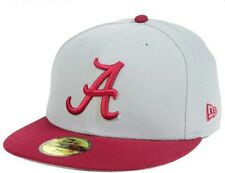32d3637b886 Era Alabama Crimson Tide Graphite crimson Basic 59fifty Fitted Hat 7