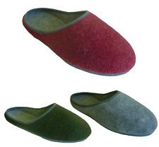 Hausschuhe Pantoffeln Filzpantoffeln Damen/Herren Poro-Filz Sohle Gr.36-48 NEU