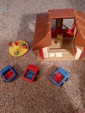 Vintage Playskool Mcdonalds Playset
