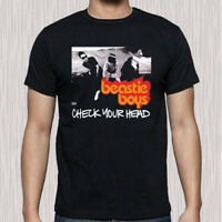 New Beastie Boys Check Your Head Group Men's Black T-Shirt Size S to 3XL