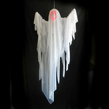 """Lighted Scary Ghost Color Changing Spirit Haunted House Halloween Party Prop 64"""""""