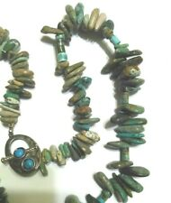Multi Color Turquoise Necklace 925 Sterling Turquoise Toggle Clasp