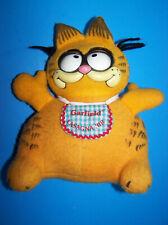 1983 GOURMET GARFIELD CAT PULL STRING TALKING VINTAGE PLUSH TOY  Mattel   Works