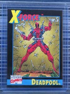 1991 Impel Marvel Universe Series 2 Deadpool Promo Card #3 (D) P48