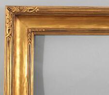 Lg Antique Newcomb Macklin Arts & Crafts Oil Painting Carved & Gold Gilt Frame