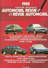 = Katalog der Automobil Revue 1988 =