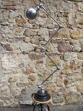 Hermosa 4 brazos jielde Lámpara 1950 Vintage 100% original francés Industrial