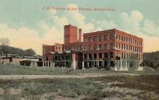 Antique POSTCARD c1907-20 J. H. Sessions & Son Co. Factory BRISTOL, CT 19255