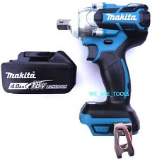 Makita XWT11 18V ½ 3-Speed Brushless Impact Wrench,1) BL1840 4.0 Battery 18 Volt