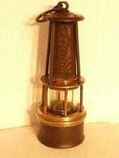 Ancienne authentique lampe de mineur Belge / Fin 19ème s / Collection Eclairage